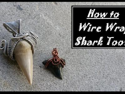 How to Wire Wrap Shark Teeth