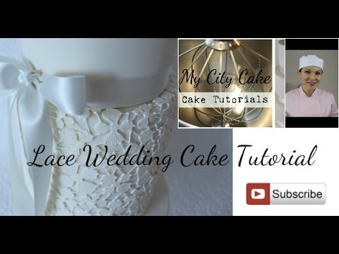 wedding cake lace tutorial lace wedding cake tutorial my crafts and diy projects 23059