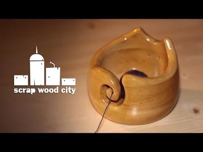 Making a kitten shaped yarn bowl on the lathe