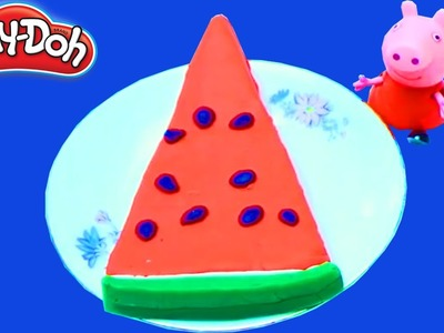 Play-Doh video  - Making Play doh fruit for Peppa Pig (DIY )