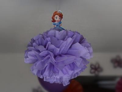 Princess Sofia themed Birthday Party decoration  | 4th Birthday | Sofia the first themed