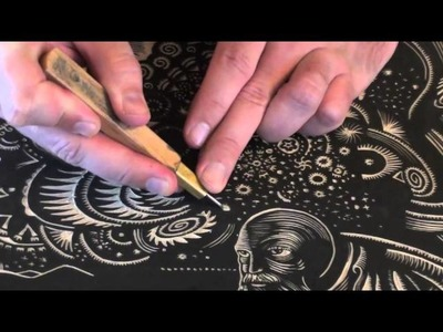 Printmaking Tutorial. Woodcarving with Woodblock Tools. Intaglio Tricks and Techniques Demo