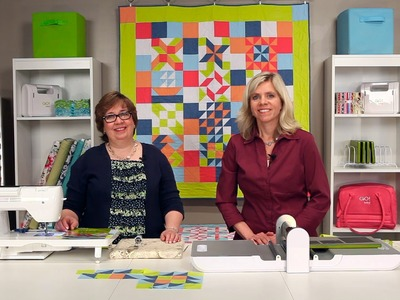 Quilting Benefits with the GO! Fabric Cutter Starter Set