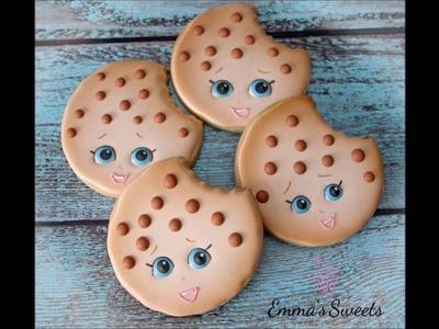 Shopkins Cookie Tutorial - Kooky Cookie by Emma's Sweets
