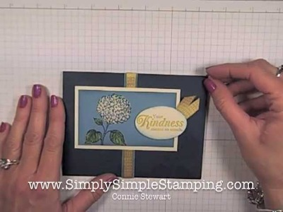 Simply Simple FLASH CARD - Colored Bleaching by Connie Stewart