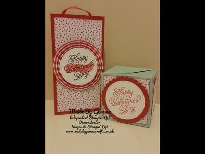 Stampin'Up! Poppin' Box Card PART 1
