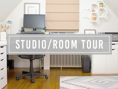 Studio Tour + Room Makeover | Simple & Modern