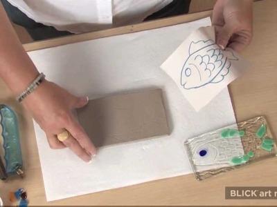 Textural Glass Slumping - Lesson Plan