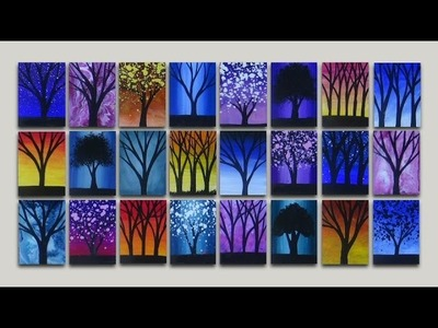Turn Your Acrylic Paintings into Refridgerator Magnets   Easy Arts and Crafts Project