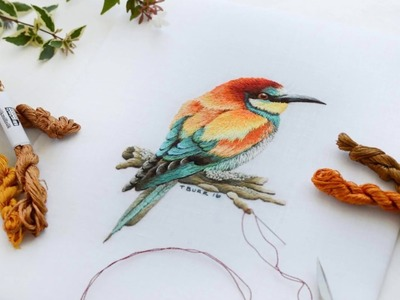 What is Needle Painting Embroidery