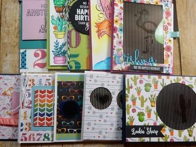 10 Cards 1 Kit | May 2017 Simon Says Stamp Card Kit | Animation