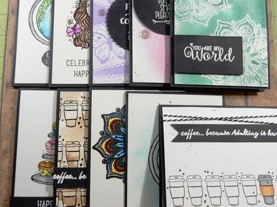 10 Cards 1 Kit   Unity Stamp Co KOM   Unexpected Places   February 2017