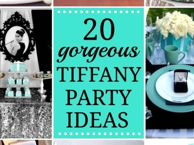 "20 Top ""Breakfast at Tiffany's"" Party Ideas!"