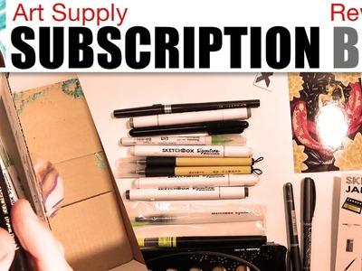 Art Supply Subscription Box Review (Sketch Box)