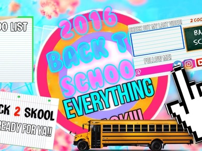 Back To School Everything Pack!! (Greenscreens+Transitions+End slates)