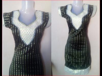 Designer neck in ladies suit DIY महिलाओं के सूट में डिजाइनर गर्दन