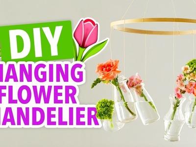 DIY Flower Chandelier - HGTV Handmade