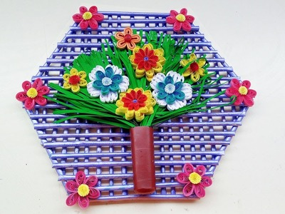 DIY Paper Quilling Wall Hanging Design for Room Decoration   Paper Quilling Art  