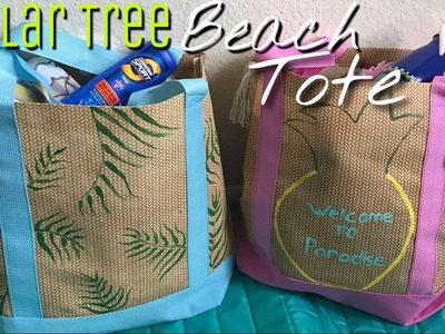 Dollar Tree DIY Beach Tote Bag