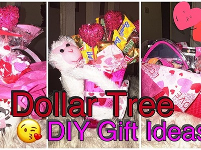 DOLLAR TREE DIY| Last minute Valentines Day Gift Ideas ❤️