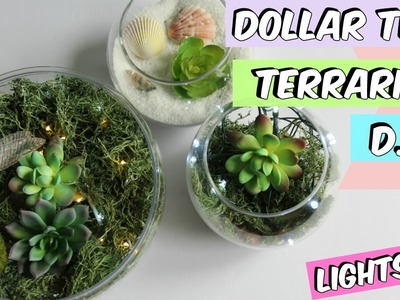 DOLLAR TREE TERRARIUM D.I.Y TUTORIAL