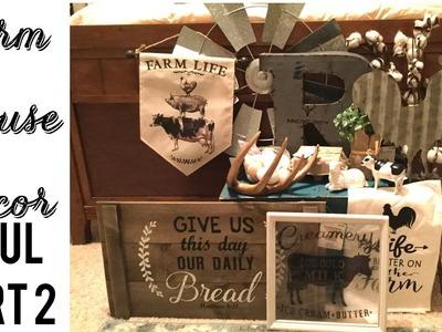 Farmhouse Decor Haul | Part 2!!