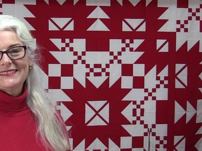 Glorious and Free Part 4 Free Follow Along Quilt Pattern