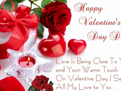 Happy Valentine's Day Wishes,Greetings,Whatsapp Video,E-card,Quotes,Sayings,I Love You