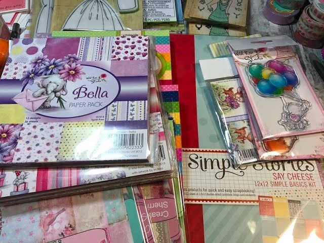 Haul from JoAnn's - LoTs of GoOdIeS!  :)