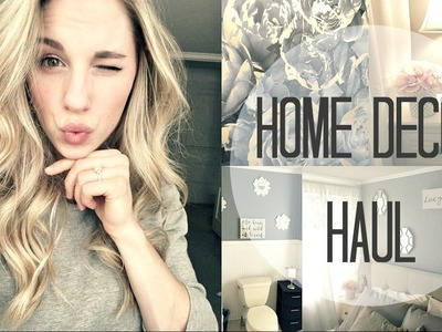 HOME DECOR HAUL | Affordable Home Decor