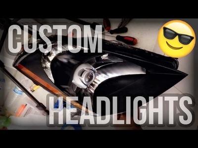 How to: DIY Custom Black Headlights Pt.2