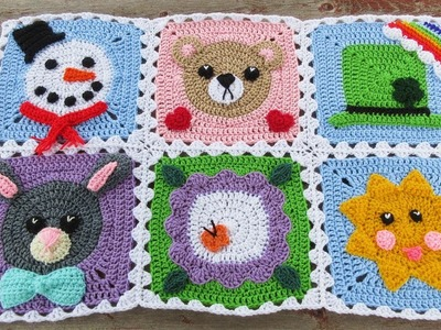 How to Join Your Calendar Blanket Squares