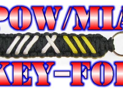 How To Make A Paracord POW-MIA Key Fob