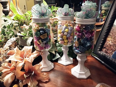 How to make Candy Jars Tutorial
