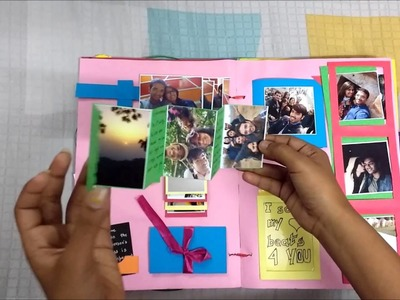 How to make handmade valentines day endless creative card.scrapbook