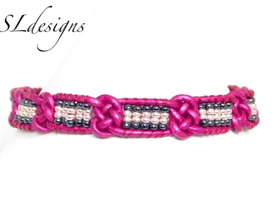 Josephine knot wrap bracelet