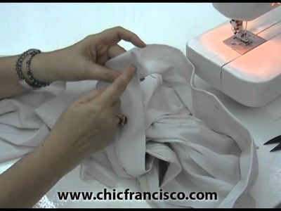 Les 4-18 How to Attach the Waistband to the Pants