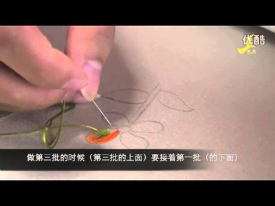 Long and short stitch - Suzhou Embroidery