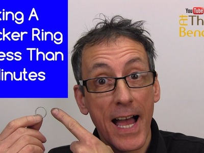 Making A Silver Stacker Ring In 10 Minutes - Making Your Own Silver Jewellery