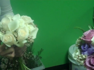 Making Bridal Bouquets for a March Wedding 2010