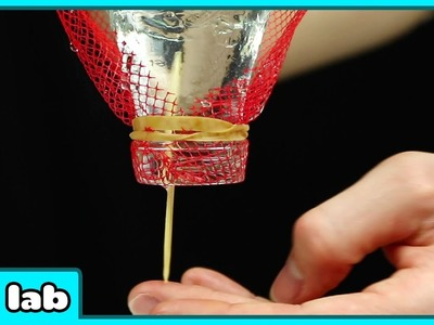 Mystery Water Suspension and Candle Magic Science Experiments