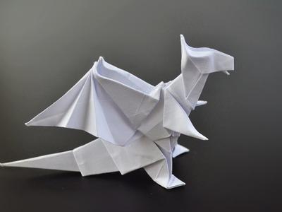 Origami: Dragon (Jo Nakashima) - Instructions in English (BR)