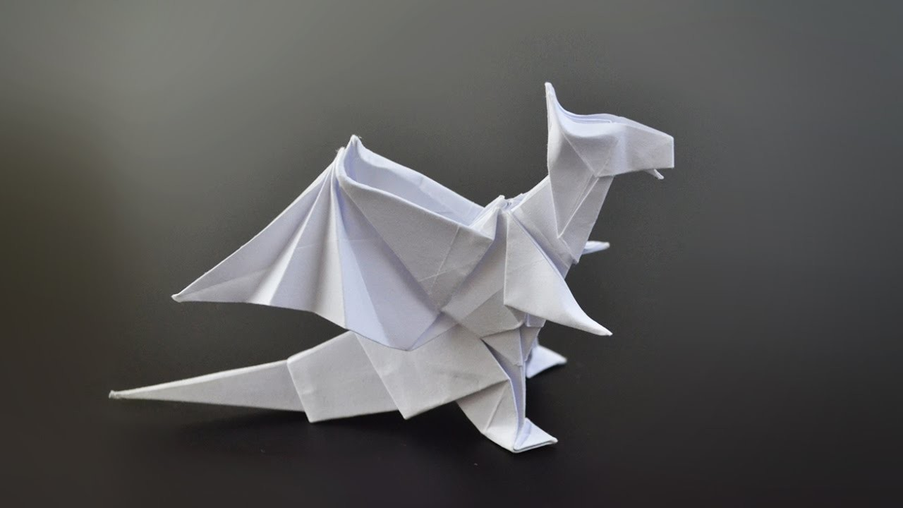 origami dragon jo nakashima instructions in english br