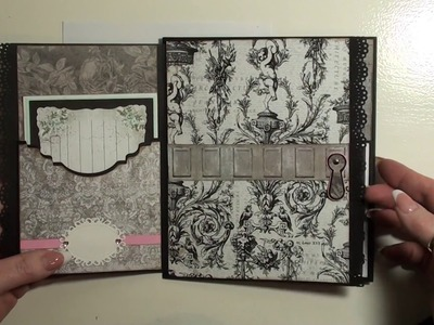 Part 3 Tutorial Salvage District Mini Album