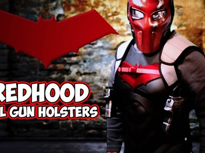 Red Hood Dual Gun Holster how to cosplay costume