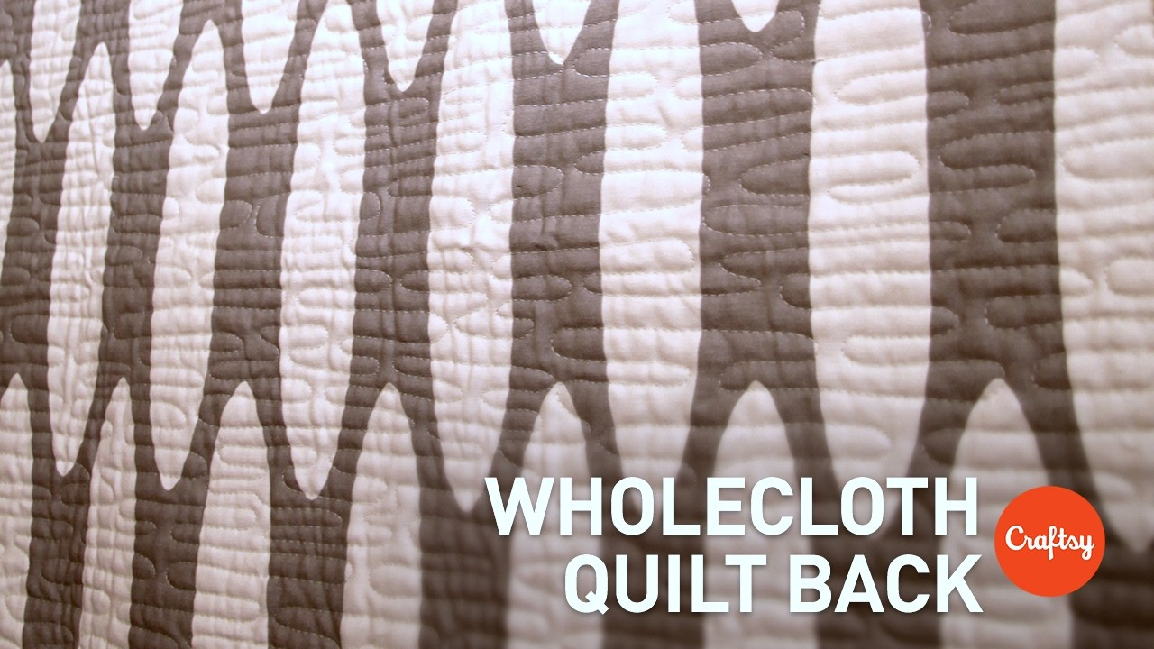 Seam-Matching Prints for Wholecloth Quilt Backing   Quilting Tutorial with Elizabeth Hartman