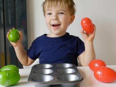 Sound Box with Plastic Eggs DIY Montessori Activity