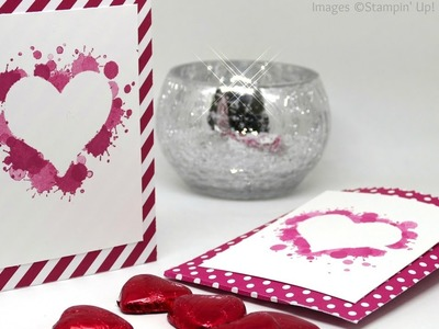 Stampin' Up! Mini Treat Bag with Reverse Stenciling