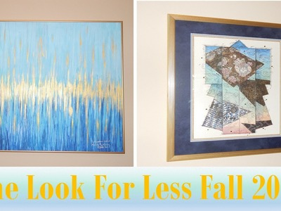 THE LOOK FOR LESS COLLAB | FALL 2015 - Large Drip Painting
