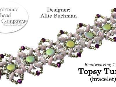 Topsy Turvy Bracelet (Tutorial)